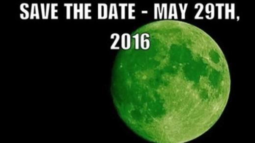 Los bulos también son de ciencia: la luna no se verá verde el 20 de abril