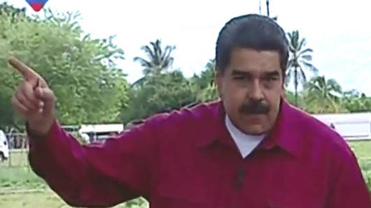 Maduro: 'Y ahora, ¿dónde hay dictadura, Mariano Rajoy?'