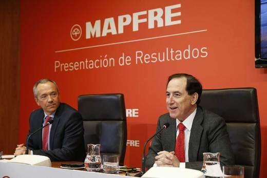 Mapfre supera los 700 millones de beneficio en 2017