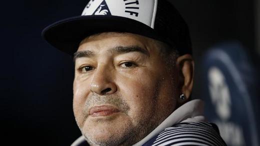 Maradona, operado con éxito de un coágulo de la cabeza