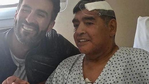 Maradona abandona el hospital tras superar su hematoma y la abstinencia