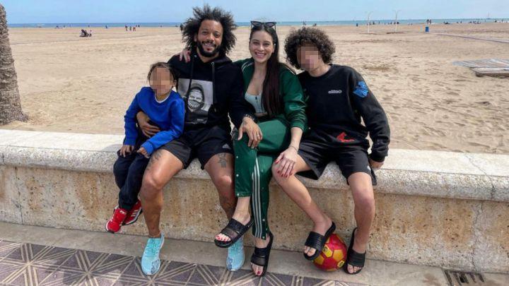 Escándalo Marcelo: el madridista pasó el domingo en Valencia con su familia pese al cierre perimetral