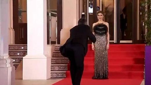 Marta Nieto, en la alfombra roja