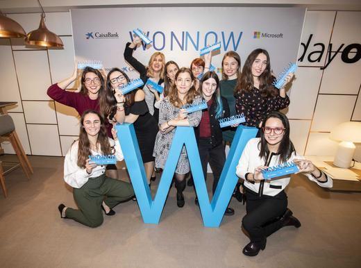 CaixaBank y Microsoft galardonarán a las mejores alumnas de grados universitarios técnicos