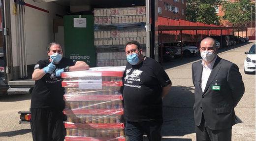 Mercadona dona a la ONG 'Turismo Solidario 2020' 5,3 toneladas de alimentos se primera necesidad