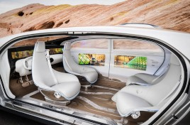 Mercedes ve un negocio en los coches de lujo sin conductor