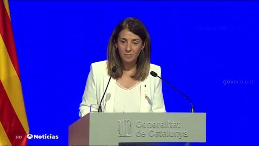 El nuevo escándalo de la Generalitat: su portavoz se niega a contestar preguntas en castellano