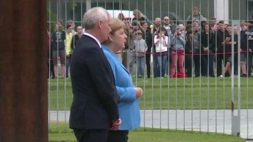 Merkel sufre un un nuevo episodio de temblores