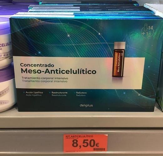 Mercadona pone a la venta su edición limitada de concentrado meso-anticelulítico