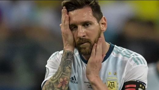 Colombia derrota 2-0 a la Argentina de Messi en la Copa América-2019