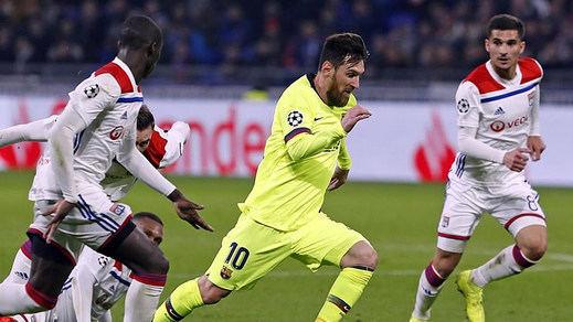 El Barça deja el pase a cuartos para el Camp Nou (0-0 ante el Lyon)