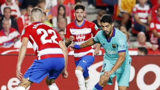 El Barça pierde ante el Granada (2-0) incluso con Messi y el Atleti no pasa del empate 0-0 ante el Celta