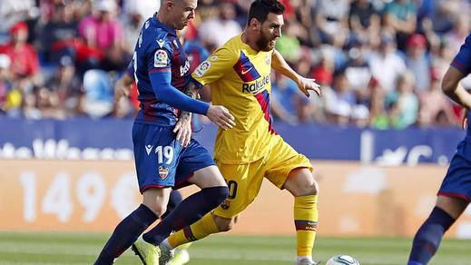El Levante le hace un 7 en 7 minutos al Barça (3-1)