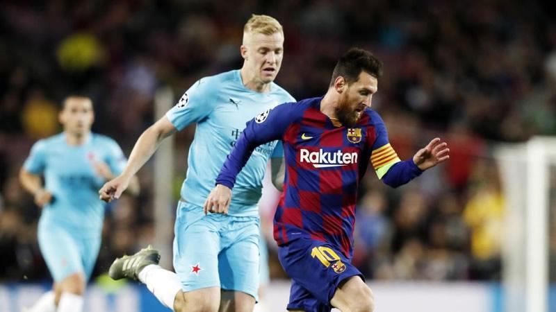 El Barça sigue en mini-crisis tras ser incapaz de batir al Slavia de Praga en casa (0-0)