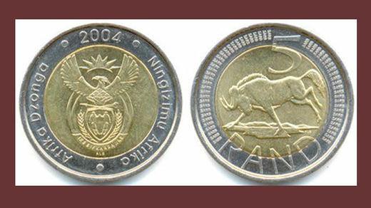 Cuidado con las nuevas monedas falsas de 2 euros: son sudafricanas