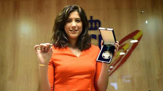 Garbiñe Muguruza, Medalla de Bronce de la Real Orden del Mérito Deportivo
