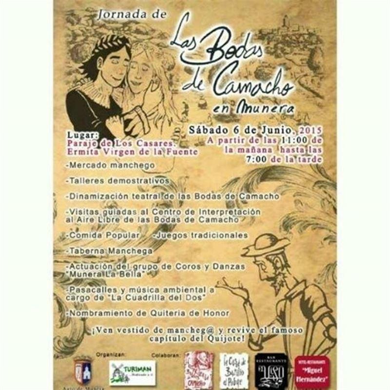 Munera (Albacete) celebrará este sábado una jornada para recordar el pasaje de las Bodas de Camacho del Quijote