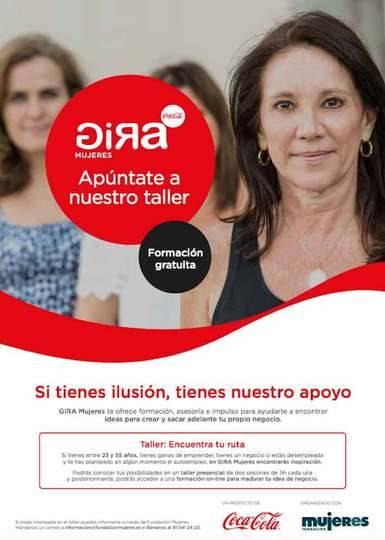 Coca-Cola lanza GIRA Mujeres para fomentar el emprendimiento