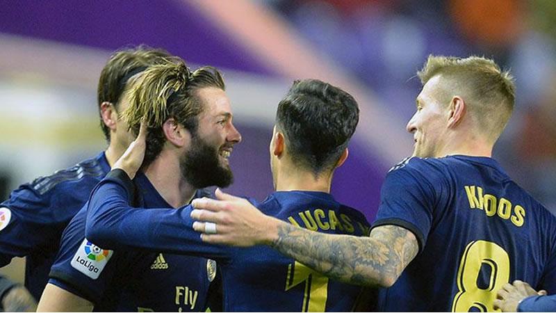 El Madrid se eleva al liderato en Valladolid dejando atrás a Barça, Sevilla y Atlético