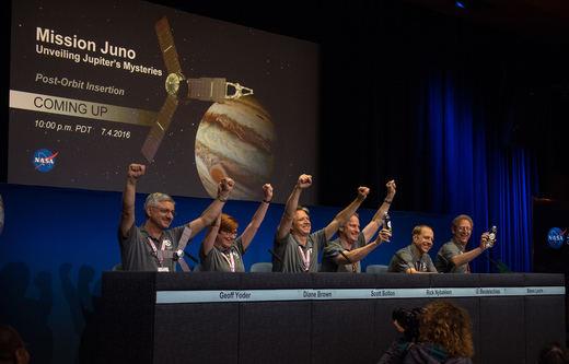 La nave Juno llega a Jupiter tras 5 años de intenso viaje