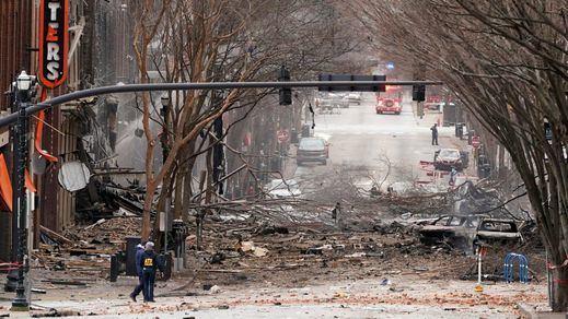 Una violenta explosión en el centro de Nashville, EEUU, deja al menos 3 heridos en plena Navidad