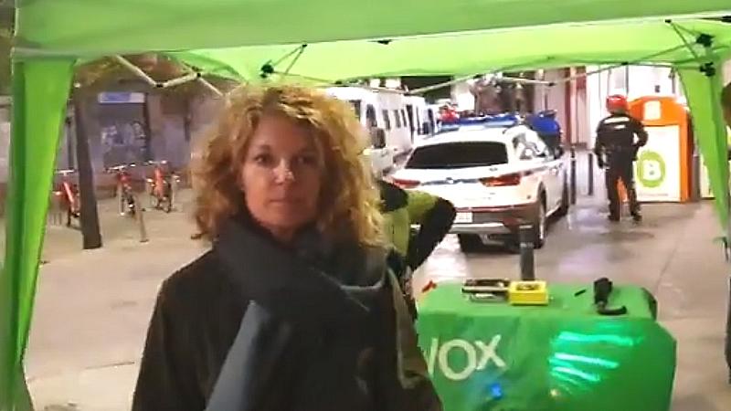 La agresión a Nerea Alzola de Vox que Rocío Monasterio denunció en el debate de mujeres