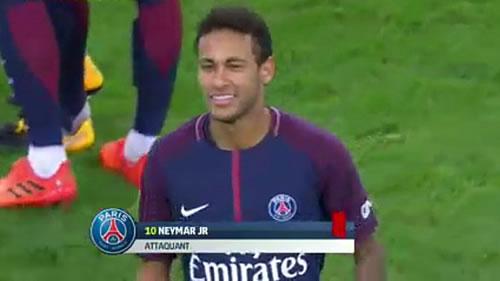 Neymar la vuelve a liar en Francia: expulsión y pelea