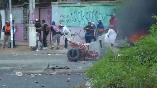 Muere un periodista de un disparo mientras cubría las protestas en Nicaragua