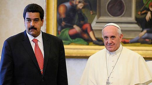 El Papa deja solo y sin argumentos a Maduro: no es posible el diálogo
