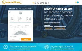 i-Neumaticos refuerza sus servicios en su nueva tienda online