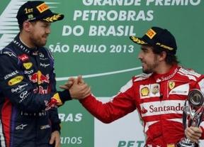 Vettel, mejor piloto de 2013 según los jefes de equipo ante un Alonso muy próximo