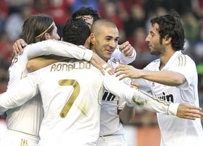 El Madrid se desayuna al Sevilla y espera un regalo del Rayo para ser campeón oficialmente (3-0)