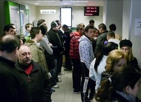Sólo una de cada tres personas en paro recibe prestaciones en Castilla-La Mancha