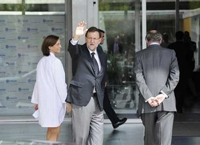 Rajoy visita al Rey: Está