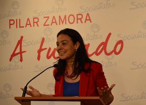 Pilar Zamora (PSOE) promete que los mayores de 65 años no pagarán autobús en Ciudad Real