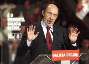 Rubalcaba acusa a Rajoy  de ser