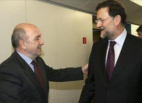 ¿Saltarán chispas en la Moncloa? Rajoy y Almunia se reunirán para 'relajar tensiones'