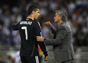 Cristiano vs. Mourinho: El delantero prefiere hacer oídos sordos