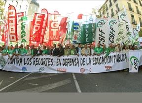 El Gobierno afronta este jueves la primera huelga general en toda la educación