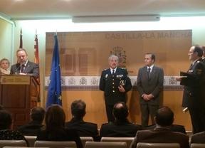 Tres inspectores de Policía Nacional de Castilla-La Mancha, condecorados