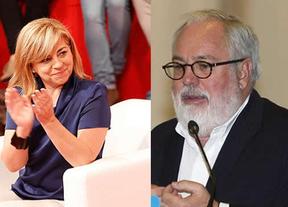 Los 'huidizos' Arias Cañete y Valenciano