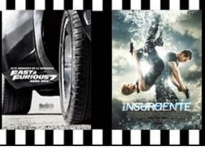 'Insurgente', 'A todo gas 7' o el regreso de 'Ben-Hur', entre los estrenos de la Semana Santa