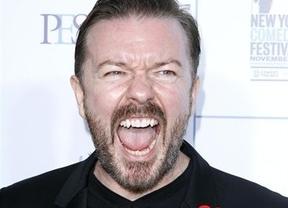 Ricky Gervais ofrece su humor 'afilado' a 2x1 para la gala de los Oscar