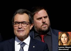 Mas acusa a Junqueras de tener 'mentalidad regionalista'
