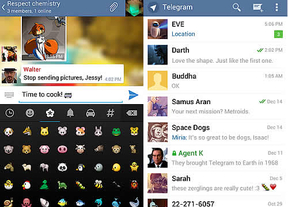 Telegram, el rival 'encriptado' de WhatsApp, ya habla español