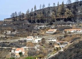 Incendios: Canarias y Madrid se acusan mientras la Guardia Civil empieza a detener a presuntos implicados