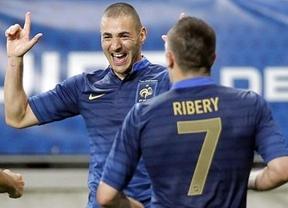 Eurocopa. Francia confía en la conexión Benzema-Ribery para ganar a una Inglaterra debilitada