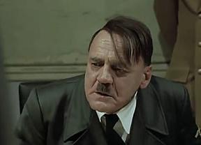 Relevado un policía por usar un vídeo de Hitler cabreado para retratar a Rajoy