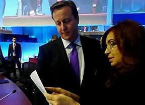 El desplante de Cameron a Cristina Fernández en el G-20