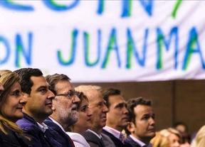 Rajoy: 'Votar a IU, Ciudadanos, Podemos o UPyD es apuntalar al PSOE en Andalucía''